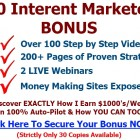 300 Internet Marketers Review
